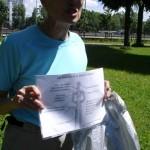 Marche nordique : activité proposée par la maison des patients de St Cloud