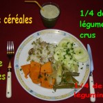 Menu équilibré n° 6 : Patate douce et pois gourmands
