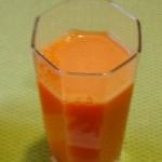 Jus n° 1 : le jus de carotte
